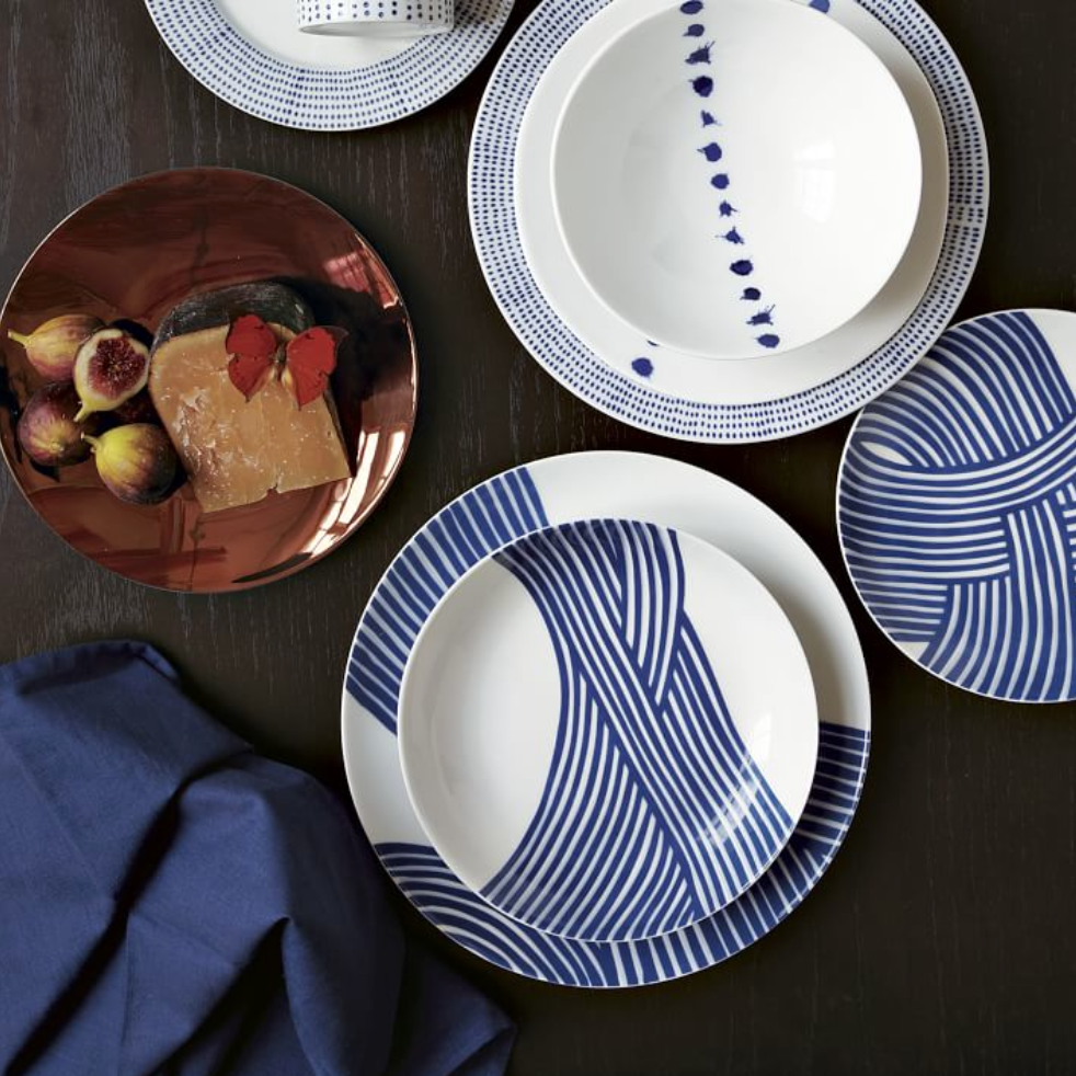 Wave Dinnerware by South African ceramicist John Newdigate & South African Home Décor | Pattern u0026 Texture by Essence