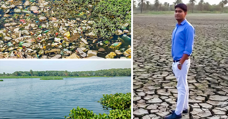 This 26-Year-Old Man Is Restoring Faith In Humanity By Reviving Dead Lakes in India