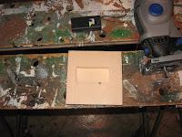 Battery box recess cut out