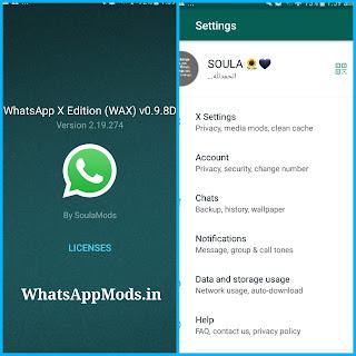 WhatsAppX v0.9.8D