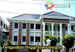 Alamat Pengadilan Tinggi Jawa Tengah