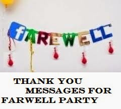 Sample Invitation Wordings: Farewell Party