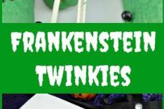 Frankenstein Twinkies Hallowen Treat