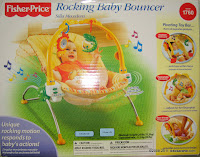 Fisher-Price Rocking Baby Bouncer with Music