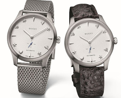 Gucci New G-Timeless watches