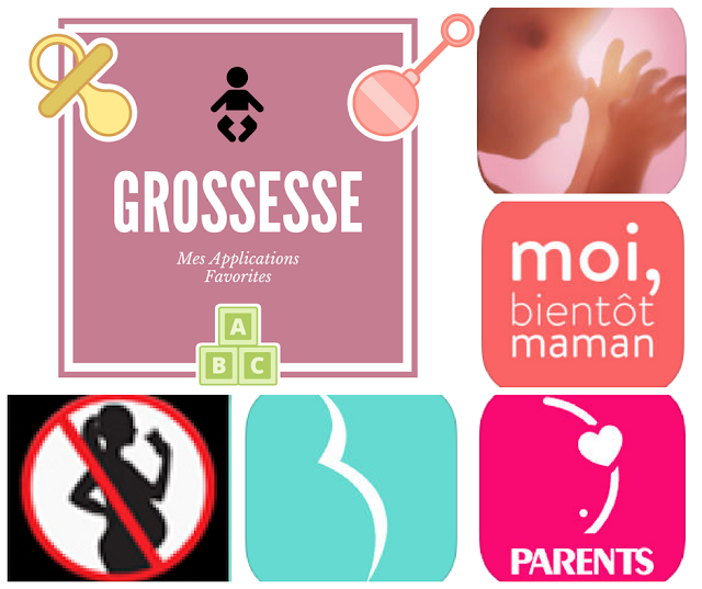 Grossesse : Mes Applications Favorites