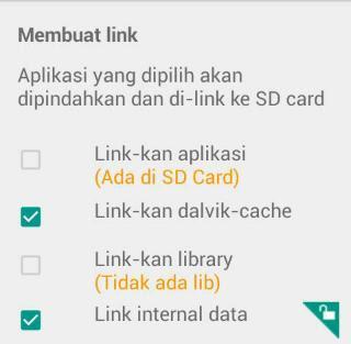 Menggunakan Link2Sd Untuk Memperbesar RAM
