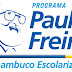 Inscrições abertas para Alfabetizadores e Coordenadores do Programa Paulo Freire