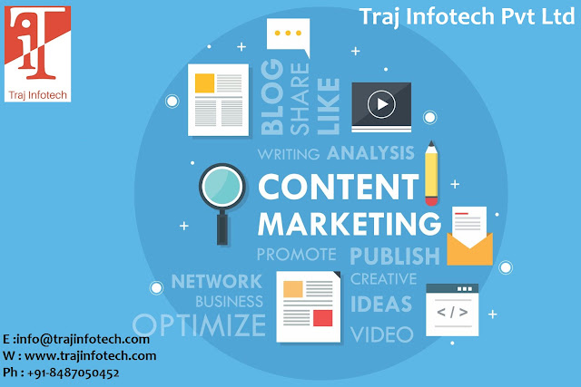 Content Marketing - Traj Infotech Pvt Ltd