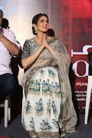 Sri Devi in designer saree stunning beauty at the launch of MOM movie Trailer~  Exclusive 113.JPG