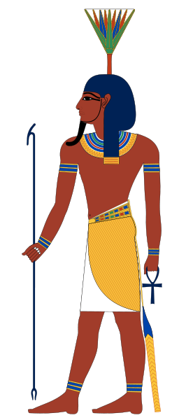 The Egyptian God Nefertum