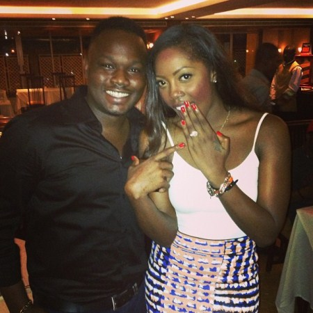 tiwa+savage+and+teebillz+engaged+lindaikejiblog Tiwa Savage gets engaged to boyfriend on her bday!