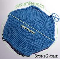 Crochet a Flat Circle
