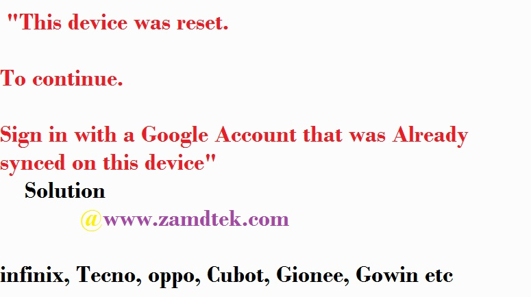 How to bypass fRP and reset Google account on Cubot R9 android