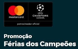 Cadastrar Promoção Mastercard 2018 Férias dos Campeões Viagem Ingressos UEFA