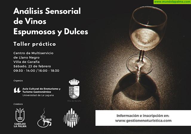 Taller de formación en análisis sensorial de vino en Garafía