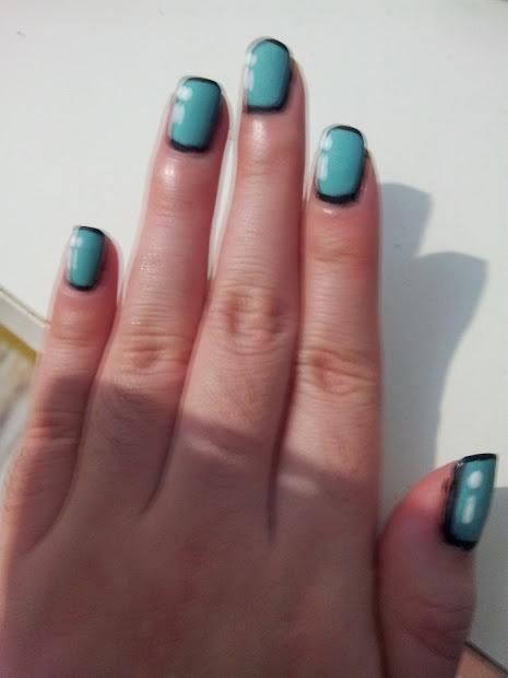 mia's nail ootd cartoon nails
