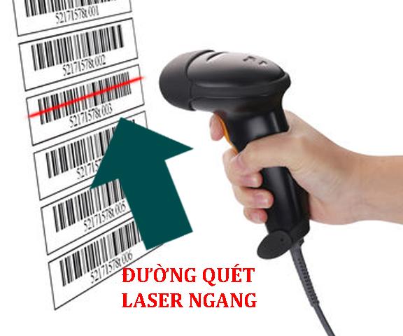 Máy quét mã vạch - Laser