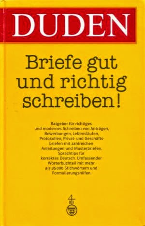 Alles Zum Deutschlernen Duden Briefe Gut Und Richtig Schreiben