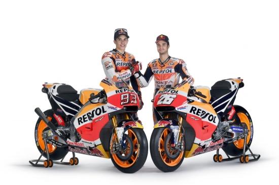 Repsol Honda Team 2017 Di Lancarkan Di Indonesia