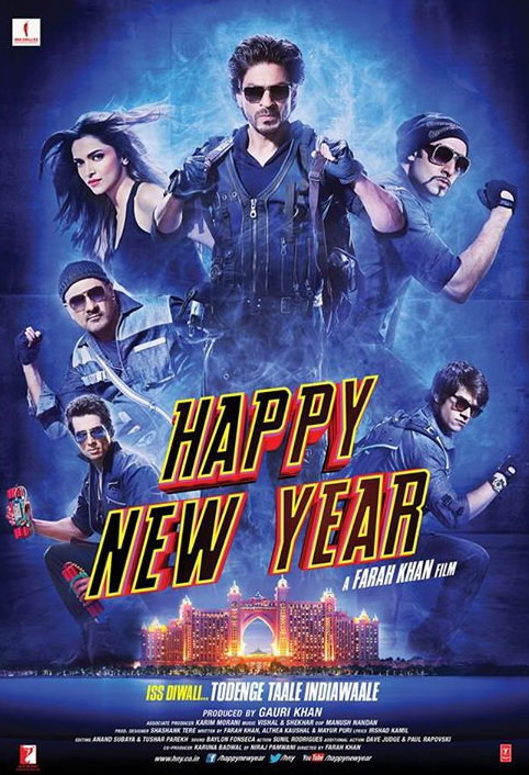 Happy New Year (2014) Hindi 480p Mobile HEVC BluRay x265 400MB