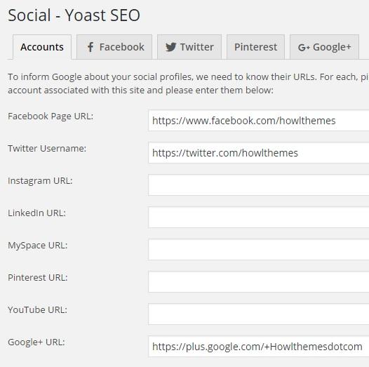 Yoast SEO Social