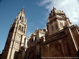 Fachada principal de la Catedral de Toledo.
