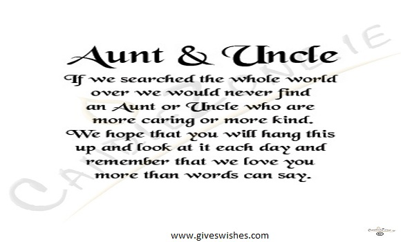 Christmas Message For Lovely Uncle And Aunt - Quotes, Wishes And Greetings For Aunt And Uncle
