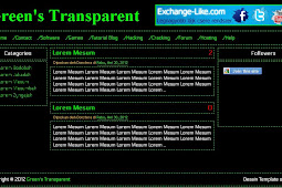 Download Template Sederhana Green Transparent