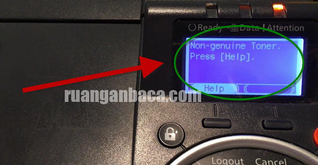 Atasi Non Genuine Toner Press Pada Mesin Kyocera