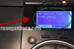 Atasi Non Genuine Toner Press Pada Mesin Fotocopy Kyocera