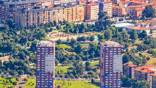 Bloques de viviendas en San Bartolomé