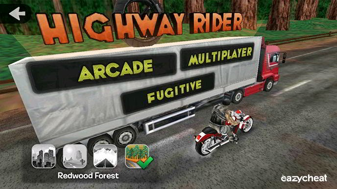 Highway Rider Cheat