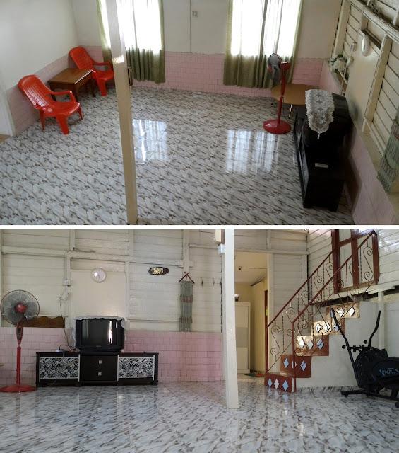 Guest House yang besar luas, Homestay di Bandar Hilir Melaka, Homestay Murah di Bandar Melaka, Homestay Muslim murah bersih selesa di Melaka