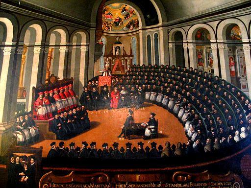 Resultado de imagen de concilio de trento tiziano