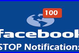 Turn Off Notifications Facebook