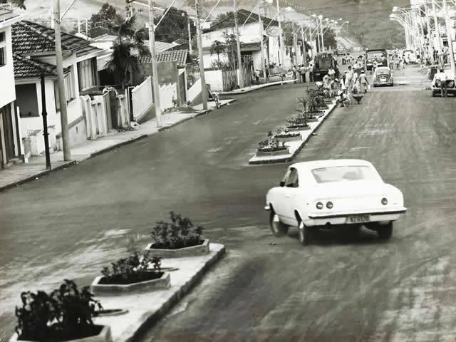 Avenida Senador Montandon década de 70