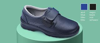 Imagen del zapato Dian Premiere en color azul