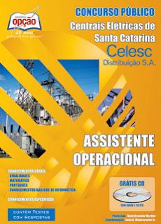 Apostila Celesc Distribuição - Assistente Operacional