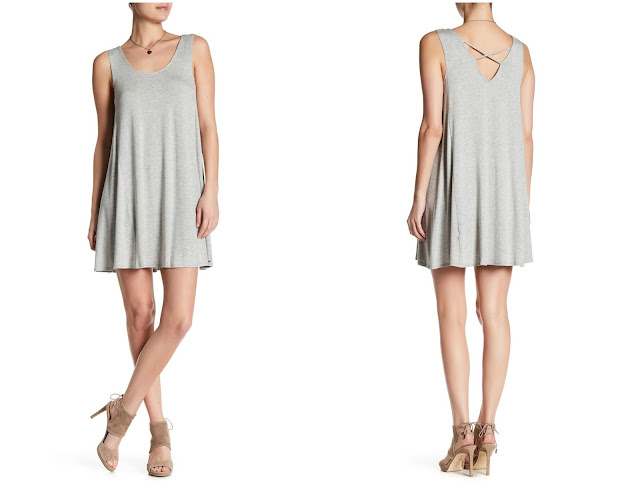 Vanity Room Crisscross Back Dress $10 (reg $78) - more colors available for $25