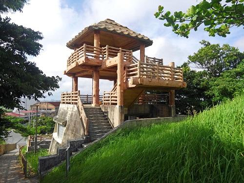 クワギブク嶽(金満の杜) 展望台の写真