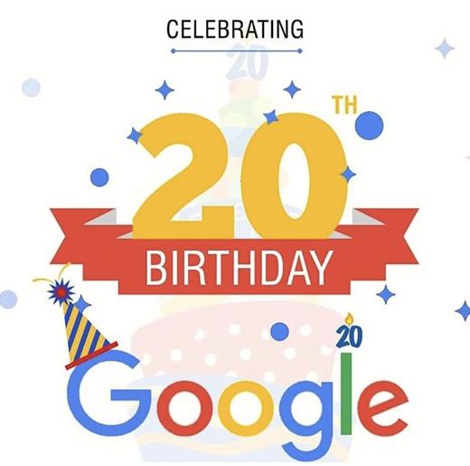 google-a-20-ans
