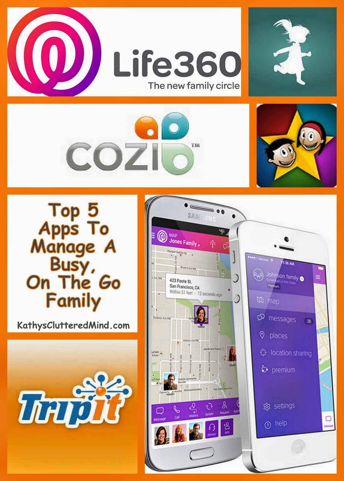 Kathys Cluttered Mind: Top 5 FREE Apps To Manage Busy, On