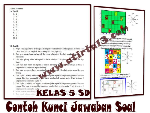 Kunci Jawaban Kelas 5 SD  Kurikulum 2013