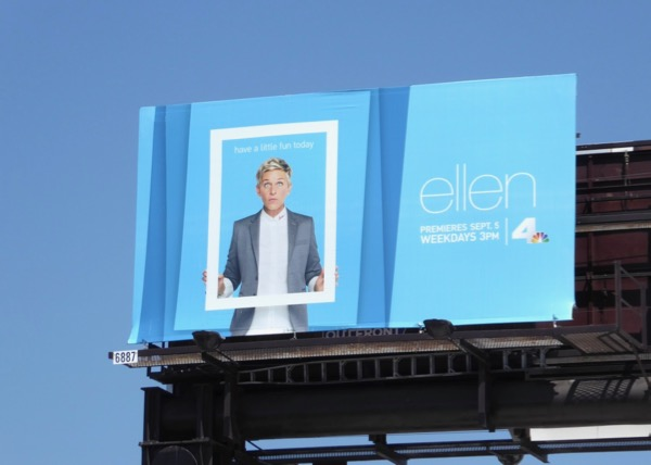 Ellen season 15 billboard