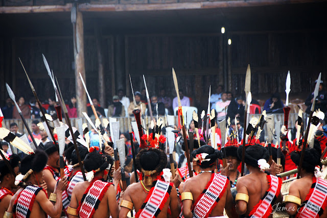 Nagaland Photos Lotha Naga tribe traditional dress spear hornbill festival nagaland 1