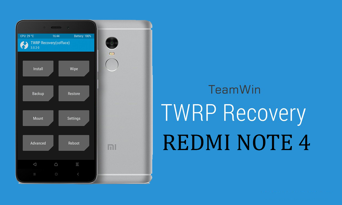 Download And Install Adb Mtp Drivers For Xiaomi Redmi Note: TWRP For Redmi Note 4x And Installation Guide