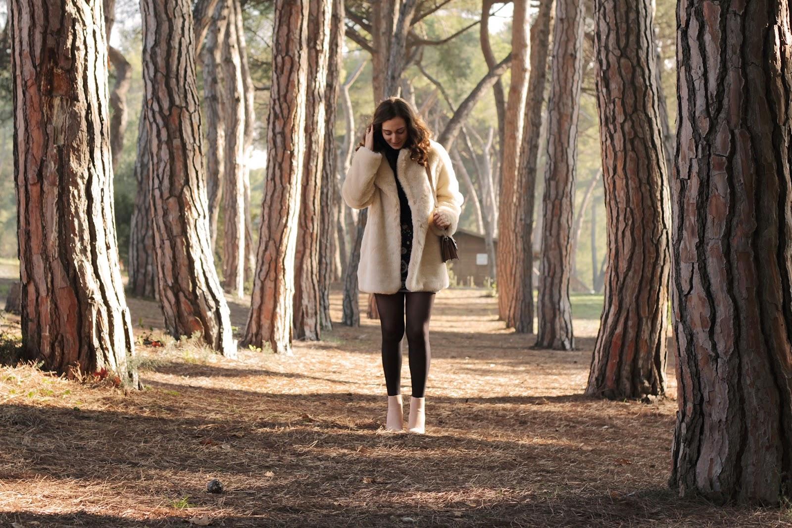 Un look chic e caldo, un pellicciotto ideale per l'inverno!
