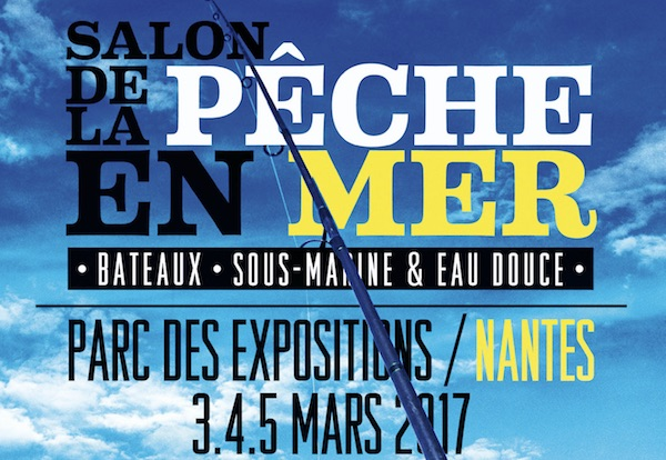 Royalelabrax22 salon de la p che en mer 2017 for Salon nautique nantes
