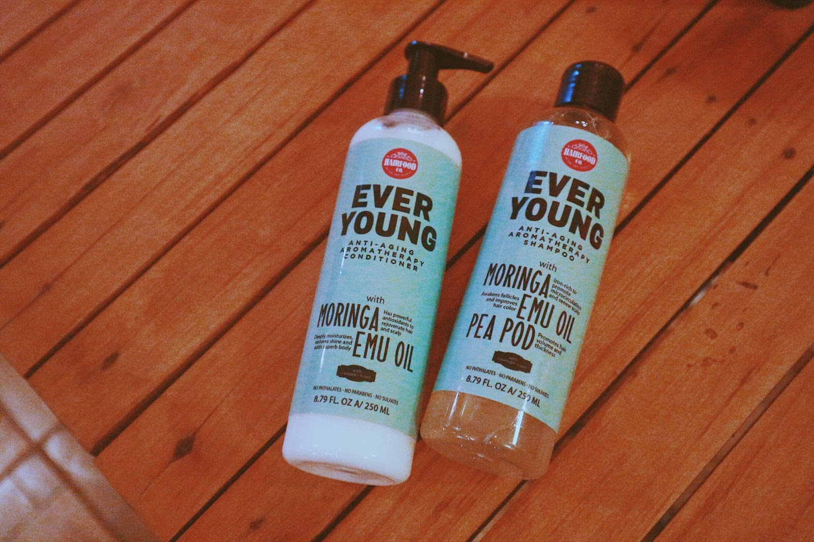 HairFood Co. Ever Young Shampoo and Conditioner